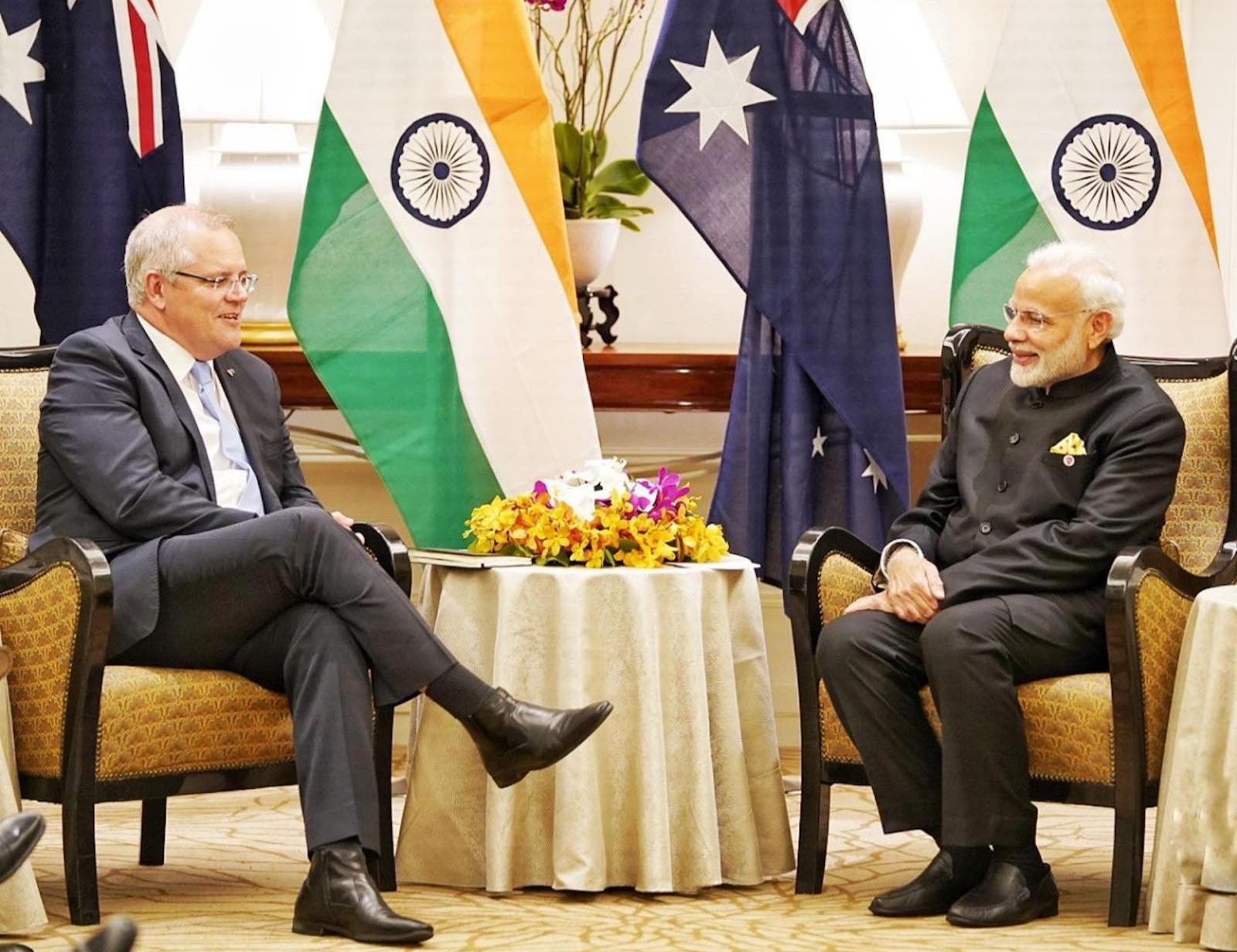 भारत-चीन तनाव में ऑस्ट्रेलिया भारत के साथ