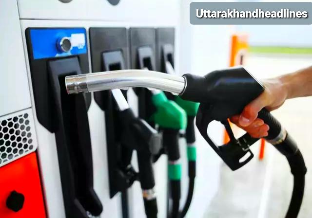 पेट्रोल व डीजल के दामों में लगातार हो रही है बढ़ोतरी