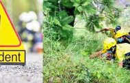 अल्मोड़ा, कोसी नदी में  गिरी बोलेरो, तीन की मौत