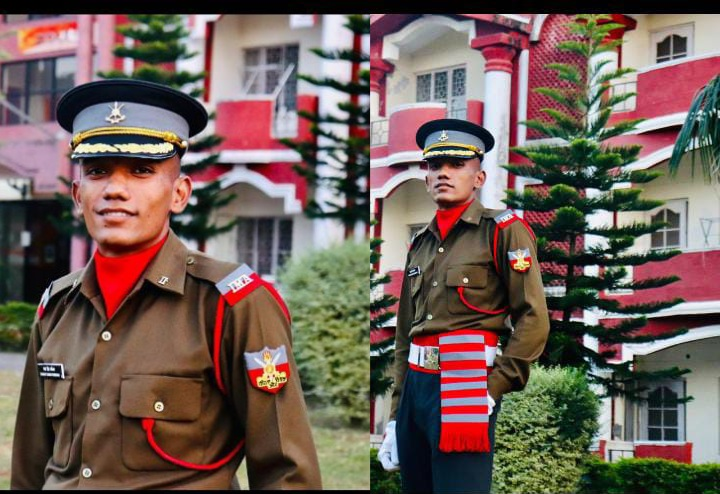 बागेश्वर का लाल सेना में बना ऑफिसर