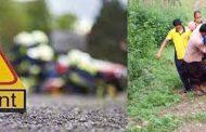 बल्दियाखान में वाहन दुर्घटनाग्रस्त नवविवाहित दंपत्ति की मौत